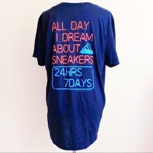 Adidas Neon Sign Sneakers 24/7 T-Shirt Shirt Tee